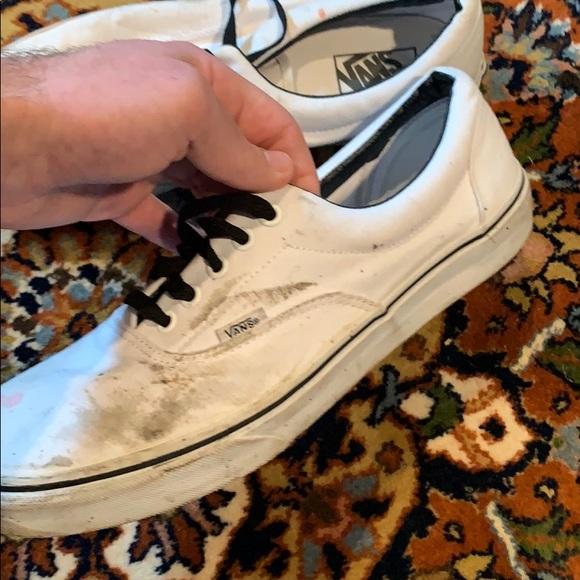 white vans size 11